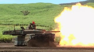 総火演 『10式戦車』 特集 JGSDF [Type 10 Battle Tank] Special