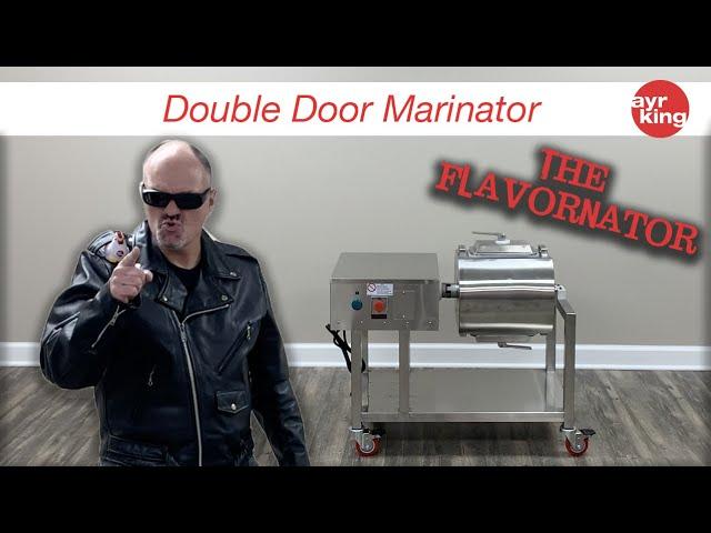 THE FLAVORNATOR: DOUBLE DOOR MARINATOR