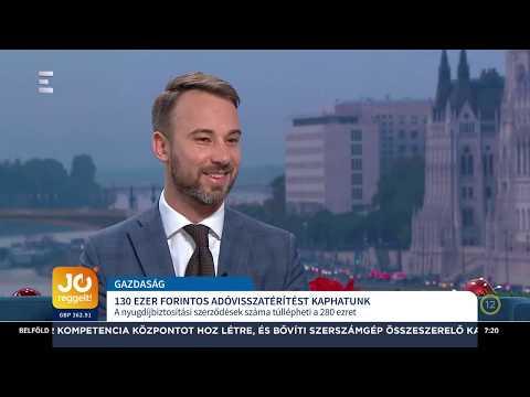 ECHO TV: Így lehet igénybe venni akár 280 ezer forintnyi szja-visszatérítést
