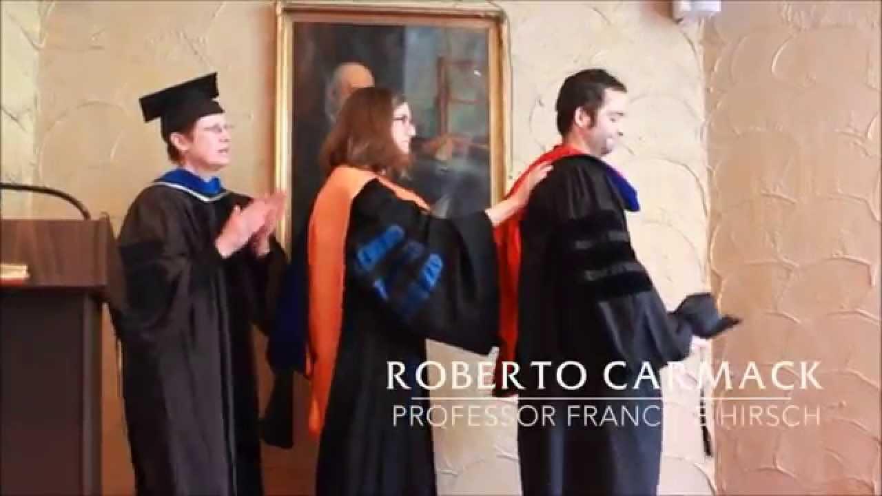 History PhD Graduation - 2015 - YouTube