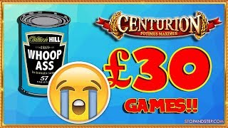 £30 GAMES!! 🎰 Centurion with Pots