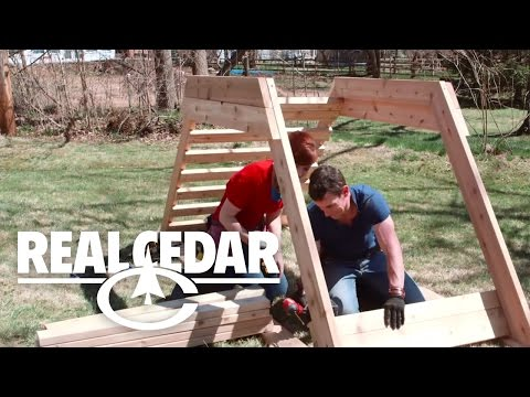 How to build : CHILDREN PLAYSET - RealCedar.com