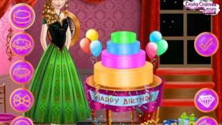 Мультик игра Холодное сердце: День рождения принцессы Анны (Anna Birthday Party)