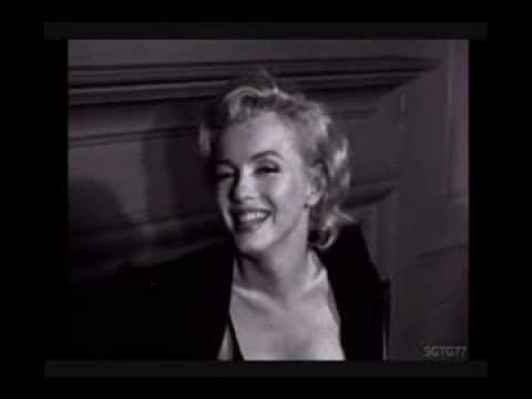 Marilyn Monroe - As Quiet As A Mouse(Rare 1960 interview)