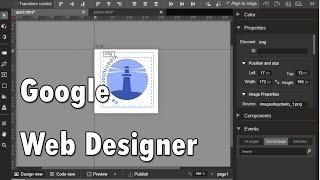 Animar un logo en modo avanzado con Google web Designer  www.videotutoriales.es