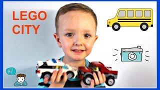 Olego TV - Lego City Лего Сити 60128 Полицейская погоня. Unboxing Lego City Police Pursuit