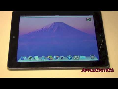 OS X Mountain Lion for iPad+ GIVEAWAY! Best Dreamboard Theme Review
