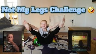Not My Legs Challenge!🤣 Also We Gate Crashed Some Fan's Going Live! ❤️