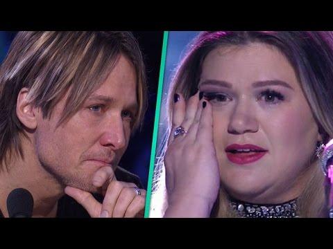 'American Idol': Watch Keith Urban Sob During Kelly Clarkson's Heartbreaking Performance