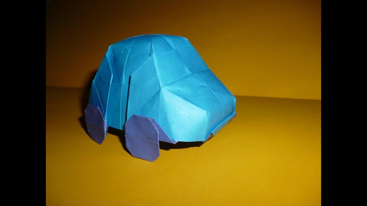origami car vw bug instructions charles esseltine
