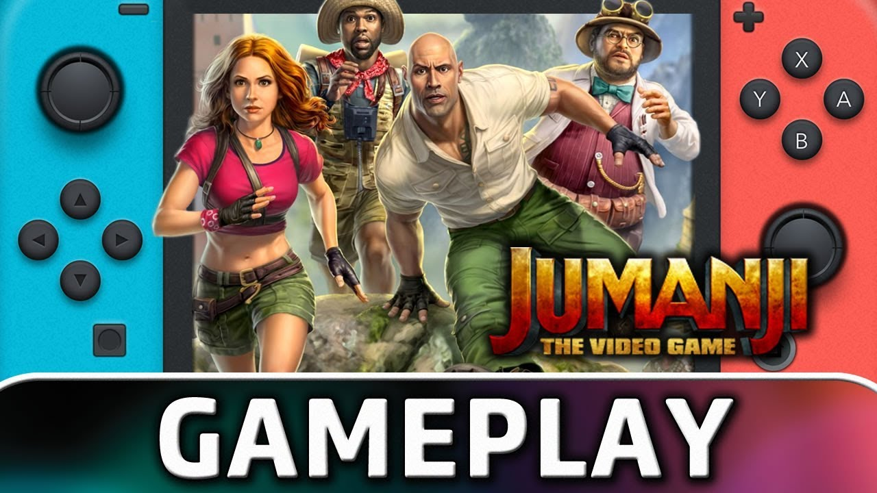 JUMANJI: The Video Game | First 30 Minutes on Nintendo Switch