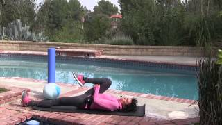 Hip alignment stretches and self-adjustment