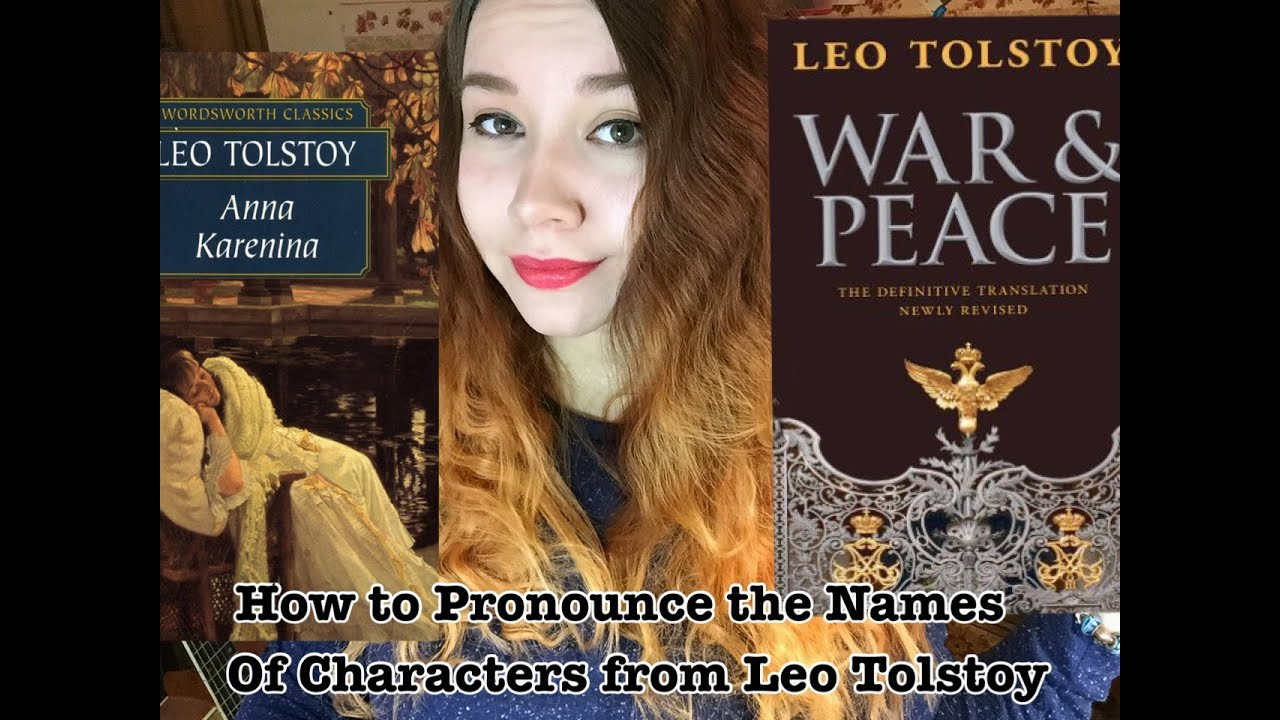 tolstoy characters