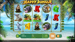 Happy Jungle Deluxe Online Slot by Playson - Neonslots.com