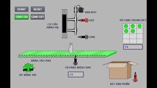 Hướng dẫn lập trình chiết rót tự động S71200 và TIA V13 TIA Portal siemens training