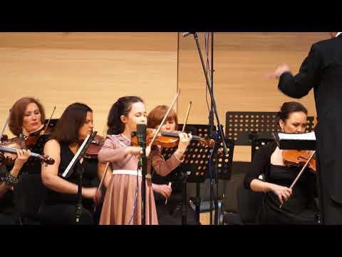 Ученица 3 класса Амирова Камилла и Национальный симфонический оркестр Республики Башкортостан 2016г.
