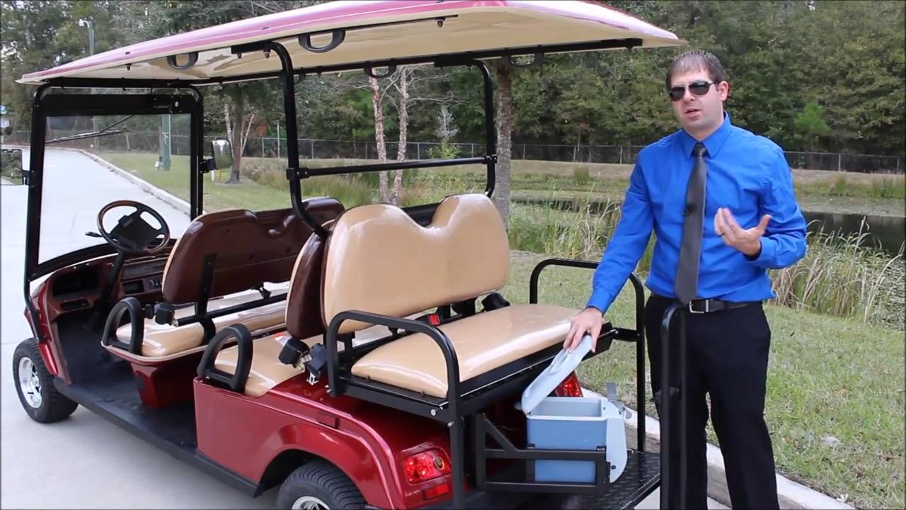 Bintelli 50 Mile Range 6pr 48 Volt Street Legal Golf Car Charleston Mt Pleasant West Ashley