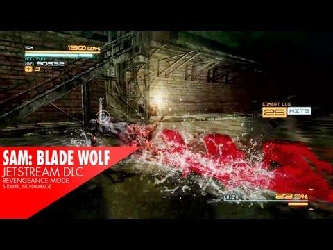 Jetstream: Sam DLC BOSS #1 - BladeWolf LQ84i S Rank (Revengeance)