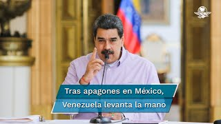 """Venezuela ofrece a México proveerlo de gas """"de forma segura"""""""
