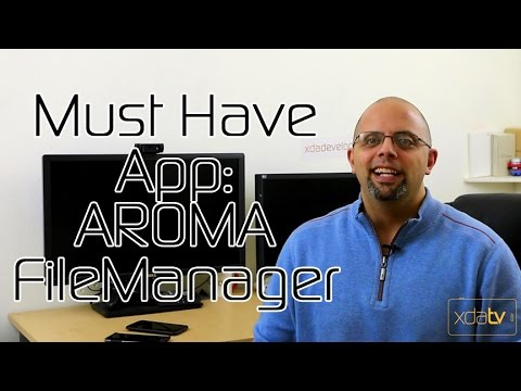 File Manager In Recovery with AROMA – Must Have App Review