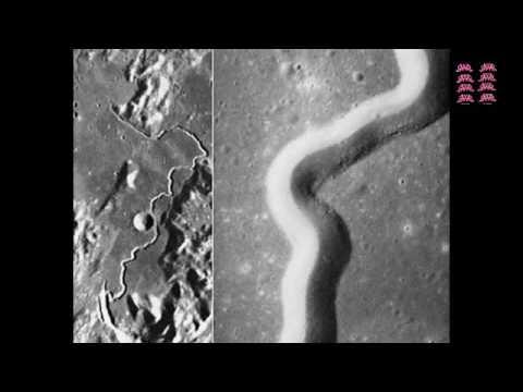 BUKTI FOTO BULAN PERNAH TERBELAH DUA DARI NASA  YouTube