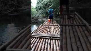 Сплав на бамбуковых плотах в джунглях, Пхукет - ч.1