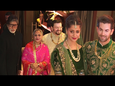 Neil Nitin Mukesh WEDDING Reception 2017 Full Video | Salman GF Iulia Vantur, Amitabh, Katrina