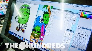 CRAZIN' GRAPHIC :: BEHIND THE SHIRT :: THE HUNDREDS