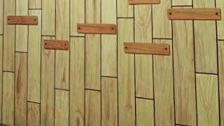 TUTORIAL cara membuat tekstur kayu dengan kuas RUSAK #2