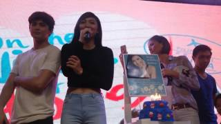 Nadine Lustre Celebrates Birthday at OTWOL Spread The Love Tour