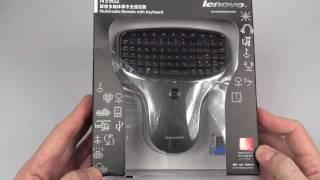 The Lenovo N5902 vs Lenovo N5901 Wireless HTPC Keyboard Remotes REVIEW (2012)