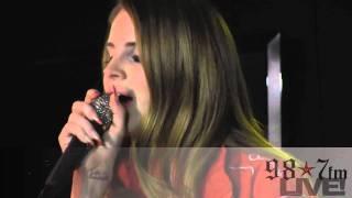 "Lana Del Rey- ""Born To Die"" LIVE inside the 98.7FM Performance Studio"