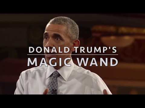 Trump's  Magic Wand Brought Jobs Back To America (Best of 2017)