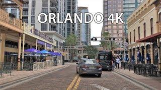 Orlando 4K - Downtown Drive