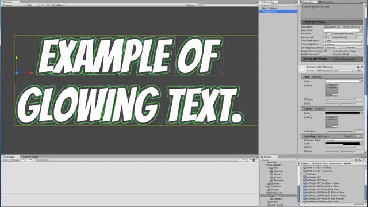 Crispy text in Unity - cinemapichollu