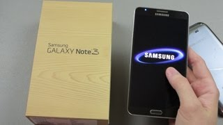 Sprint Samsung Galaxy Note 3 Unboxing and First Look!