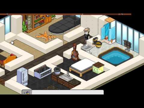 Constru o habbo casa moderna funnydog tv for Como hacer una casa en habbo
