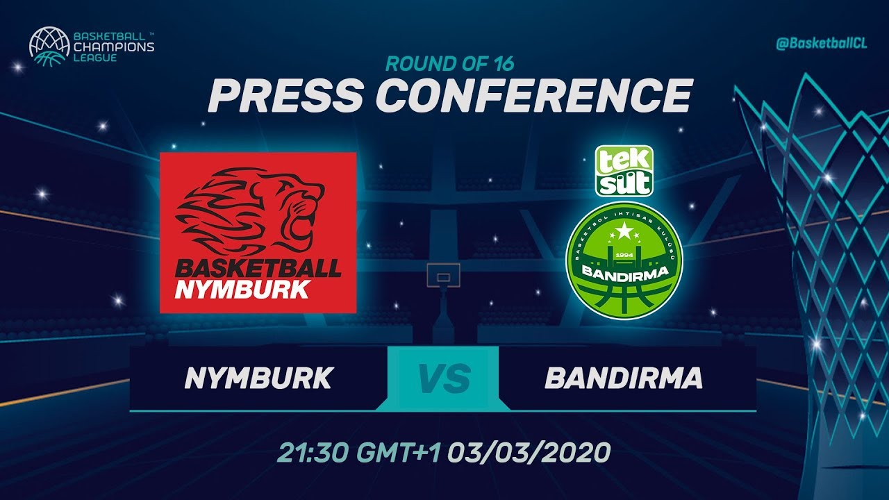 ERA Nymburk v Teksüt Bandirma - Press Conference - Basketball Champions League 2019