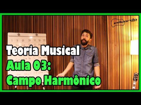 Curso de Teoria Musical - Aula 03: Campo Harmônico l Aula #44