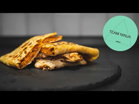 Vegan Quesadillas with Sweet Potato Quick and Easy (Episode 2)