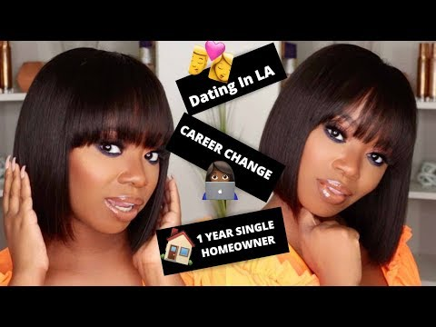 Flat Iron & Chat: 1 Year Single Homeowner, My Career Change & Dating In LA