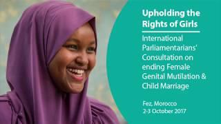 #UpholdGirlsRights Parliamentarians Consultation