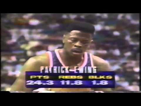 1992-93 Knicks vs. Suns (1/8)
