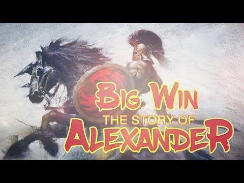 BIG WIN!!!! The Story of Alexander big win - Casino - Bonus Round (Casino Slots)