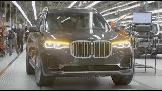 2019 BMW X7 - PRODUCTION LINE - German Car Factory in USA