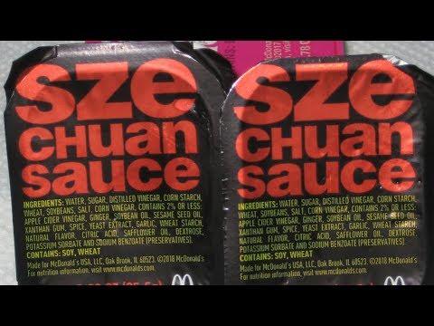 McDonald's Szechuan Sauce Review