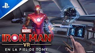 Marvel's Iron Man VR | En la piel de Tony (Entre bastidores) | PS VR