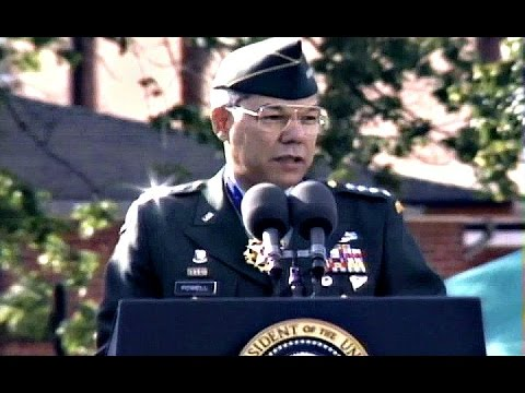 Colin Powell - Military Retirement Speech
