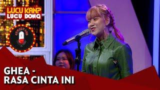 Download Mp3 Ghea Indrawari: Rasa Cinta Ini    - Comedy Lab