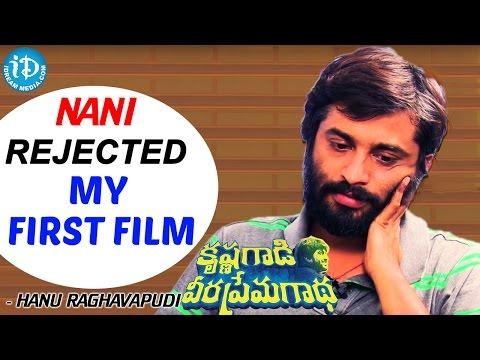 Nani Rejected My First Film - Hanu Raghavapudi    KVPG Movie    Talking Movies With iDream